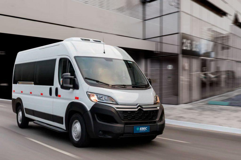 Citroen jumper minibus para Locação EBEC
